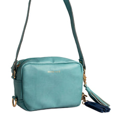 Sky Color Vegan Leather Women Sling Bag - BM-SLING-SKY
