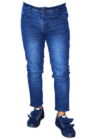 Dark Blue Color Denim Men Jeans - snaave-DB-1