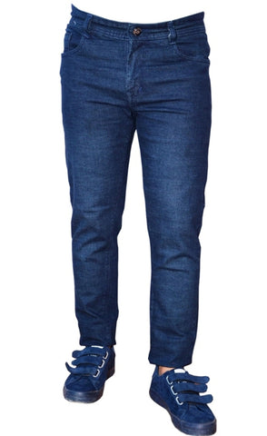 Blue Color Denim Men Jeans - snaave-blue-1