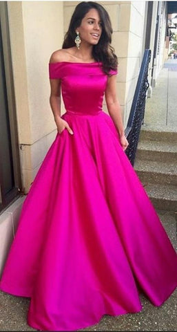 Hot Pink Color Taffeta Women's Stitched Dress - sp_2019_z10