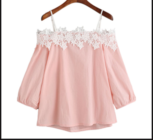 Baby Pink Color Cotton Top - sptp020