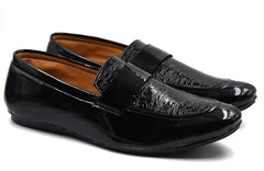 Buy Black Color Patent Leather Men Shoe