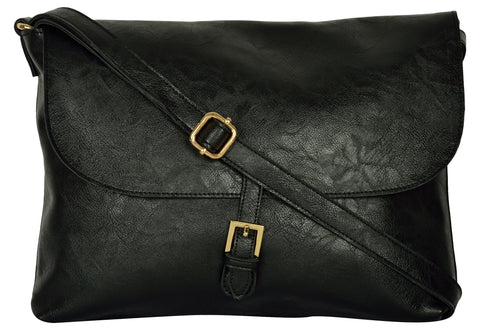 Black Color PU Women Hand Bag - AWBC2BL