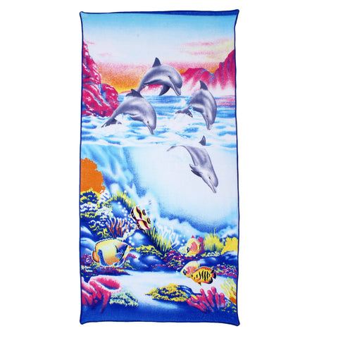 BELOMODA- Multi Color Blended Cotton Towel-wcblmct32