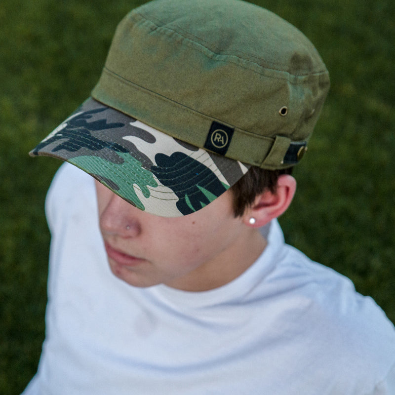 CAMO CADET HAT - R-Anthony® Hats & Headwear