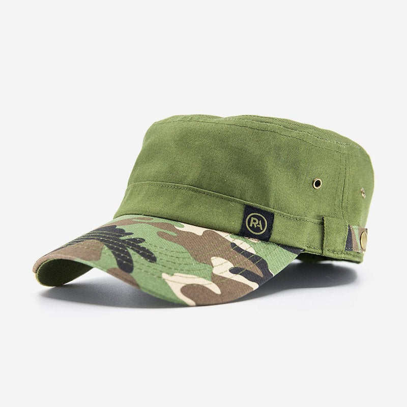 R-Anthony® Hat Army Green CAMO CADET HAT