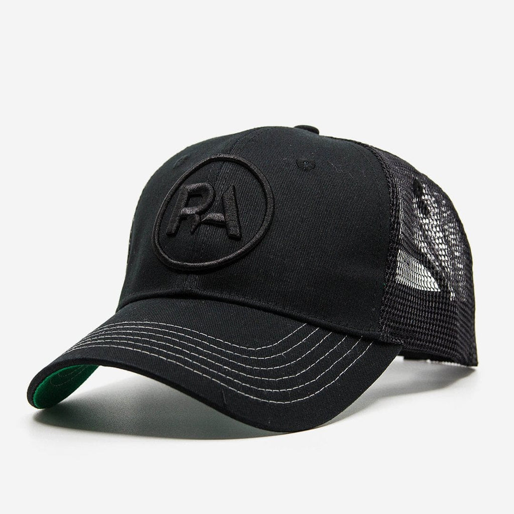 R-Anthony® Hat Black Blackout Snapback Hap