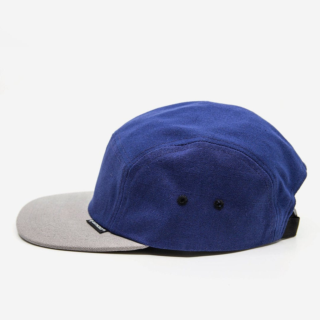 R-Anthony® Hat Blue Rainier 5 Panel Camper Cap