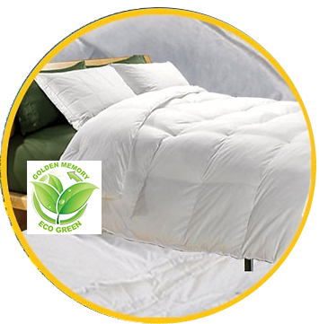 Eco-Green Down Alternative Comforter/Duvet Insert