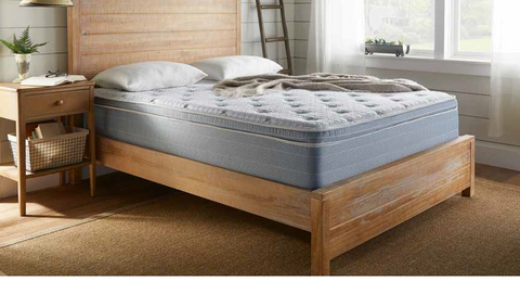 "14"" Medium Pillow Top Pocketed Coil Mattress - 2 Sided"