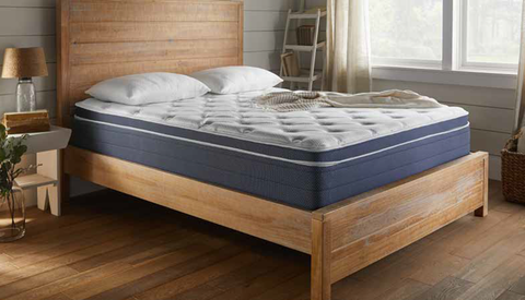 "9"" Medium Firm Euro Top Open Coil Mattress"