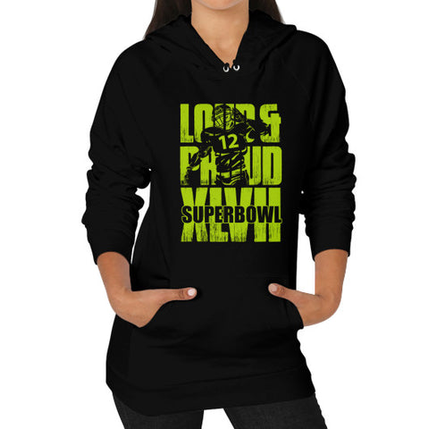 Loud & Proud Hoodie (female)