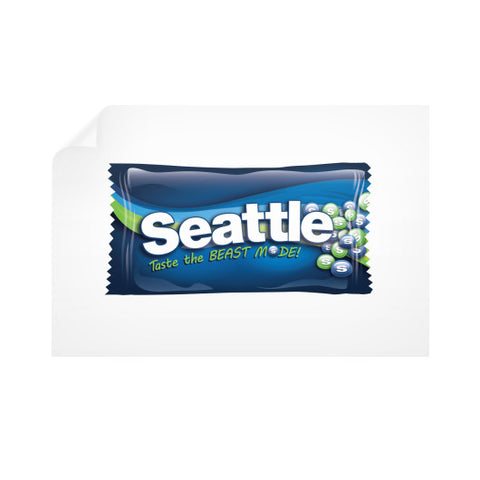 Seattle Candy Horizontal Wall Decals