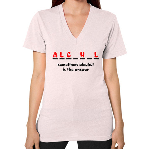Alcohol Women's V-Neck