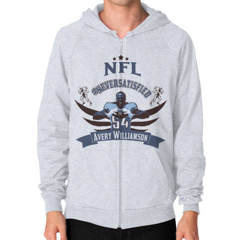 Avery Williamson Men's Zip Hoodie