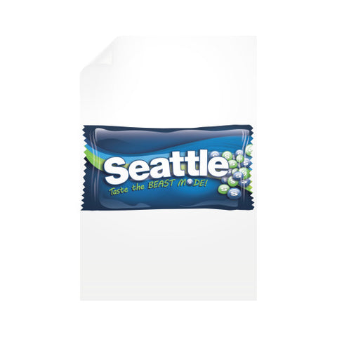 Seattle Candy Vertical Wall Decals
