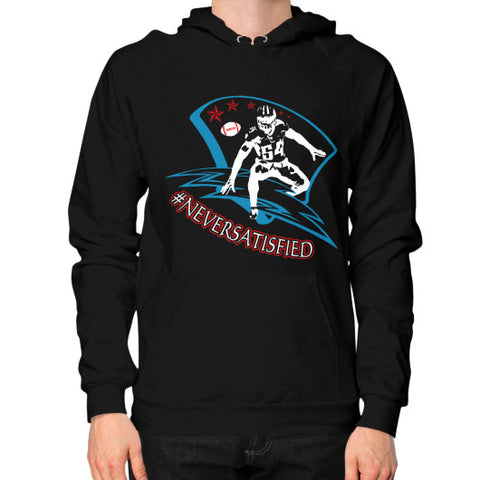 #NeverSatisfied Men's Hoodie