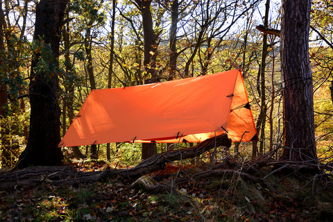 DD Tarp 3x3m - Sunset Orange