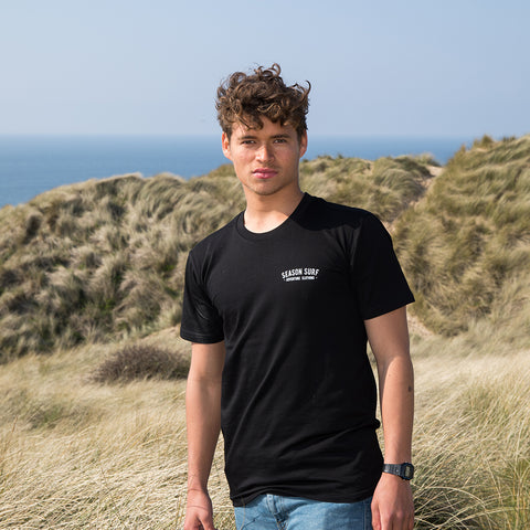 Season Surf Tee - Black