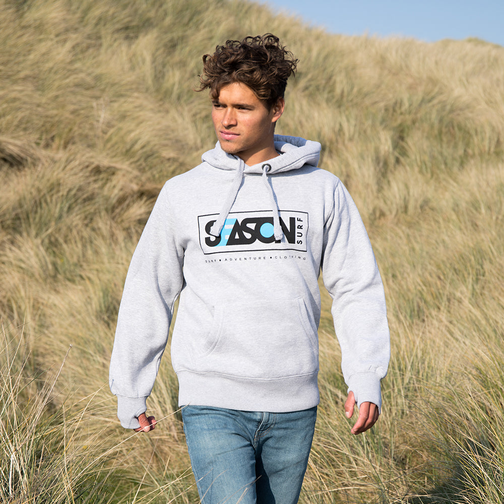 Season Surf Hoody - Grey