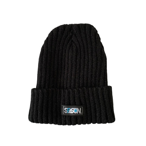 Easy Day Black Beanie