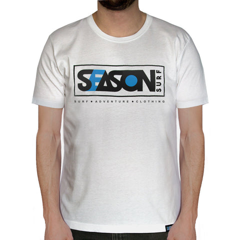 Season Surf white Tee