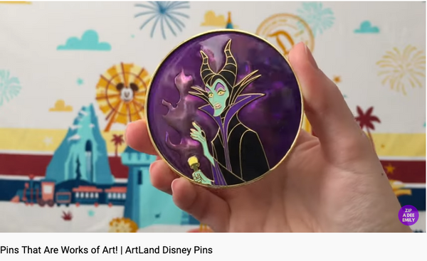 Disney Pin You Tube Video