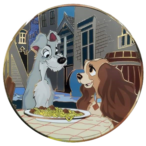 Lady and the Tramp Pins