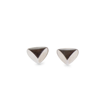 Handmade sterling silver stud earrings by Sky Phaebl. Inspired by the powerful and divine feminine energy in the universe.
