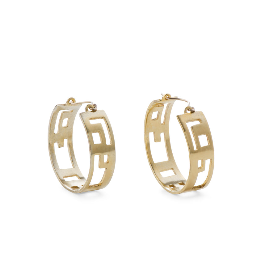 Hyperion Golden Hoops