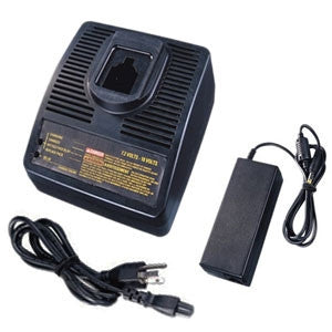 Product image for Compatible DeWalt 7.2V - 18V Battery Charger for Dewalt Ni-CD, Ni-MH, and Li-Ion Power Tool Batteries