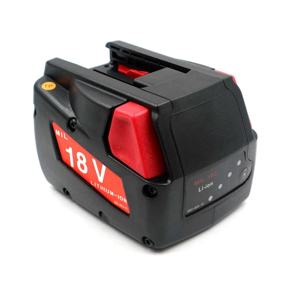 Product image for Compatible Milwaukee 18V 48-11-1830 2.0Ah Li-Ion Rechargeable Battery by PowerToolExpress