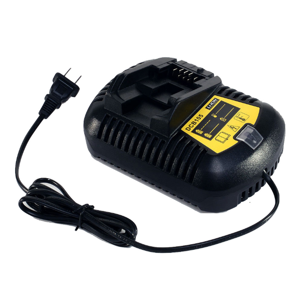 Product image for Compatible DeWalt 10.8V - 18V Battery Charger for Dewalt DCB120, DCB200 Li-Ion Power Tool Batteries by PowerToolExpress