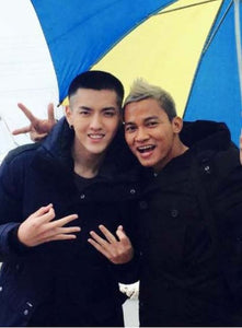 Kris Wu and Tony Jaa