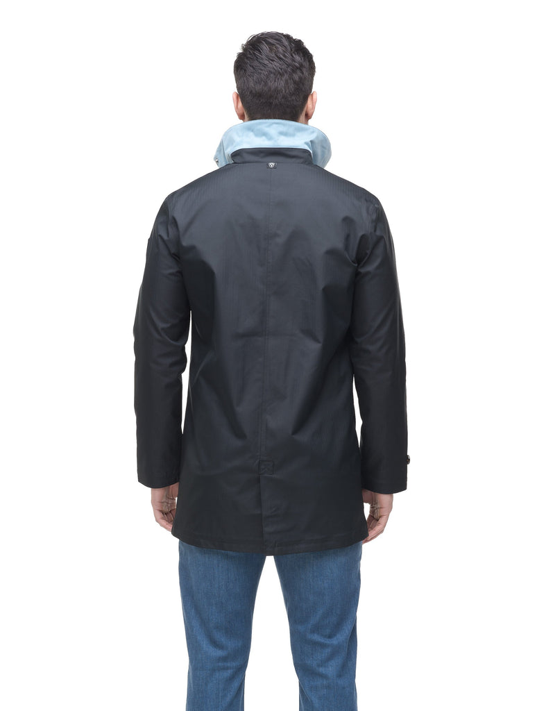 Men's Macintosh style raincoat in Black| color