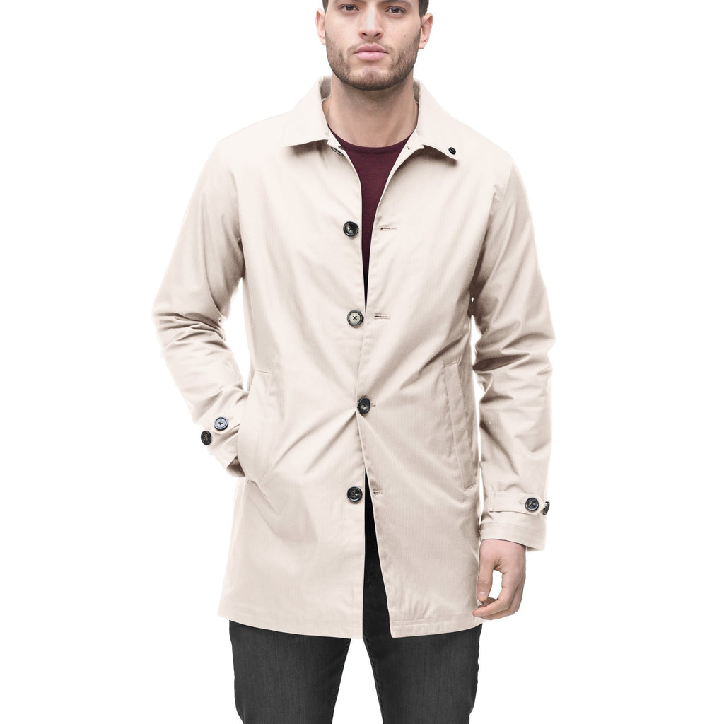 Men's Macintosh style raincoat in Camel | color