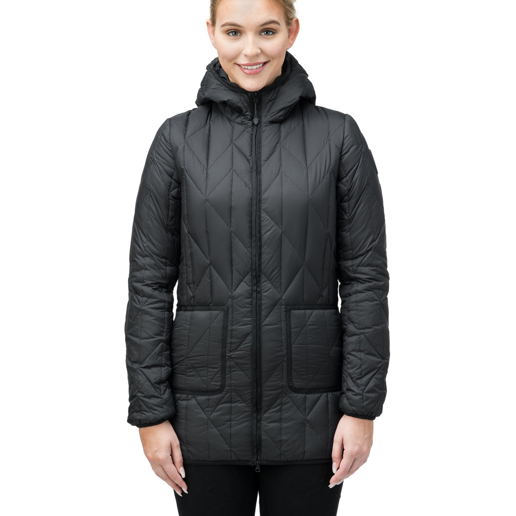 Hester Ladies Quilted Hooded Jacket
