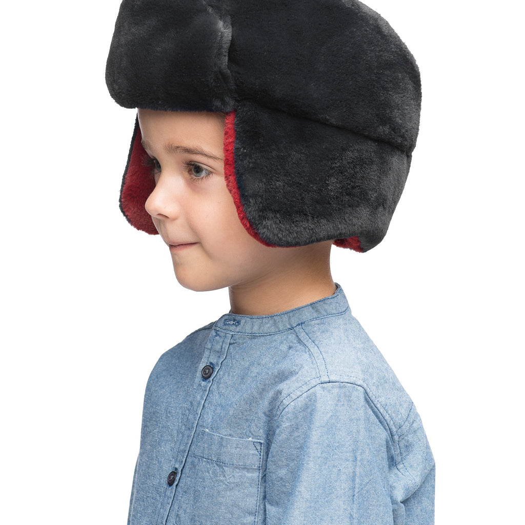 Little Trapper Reversible Hat