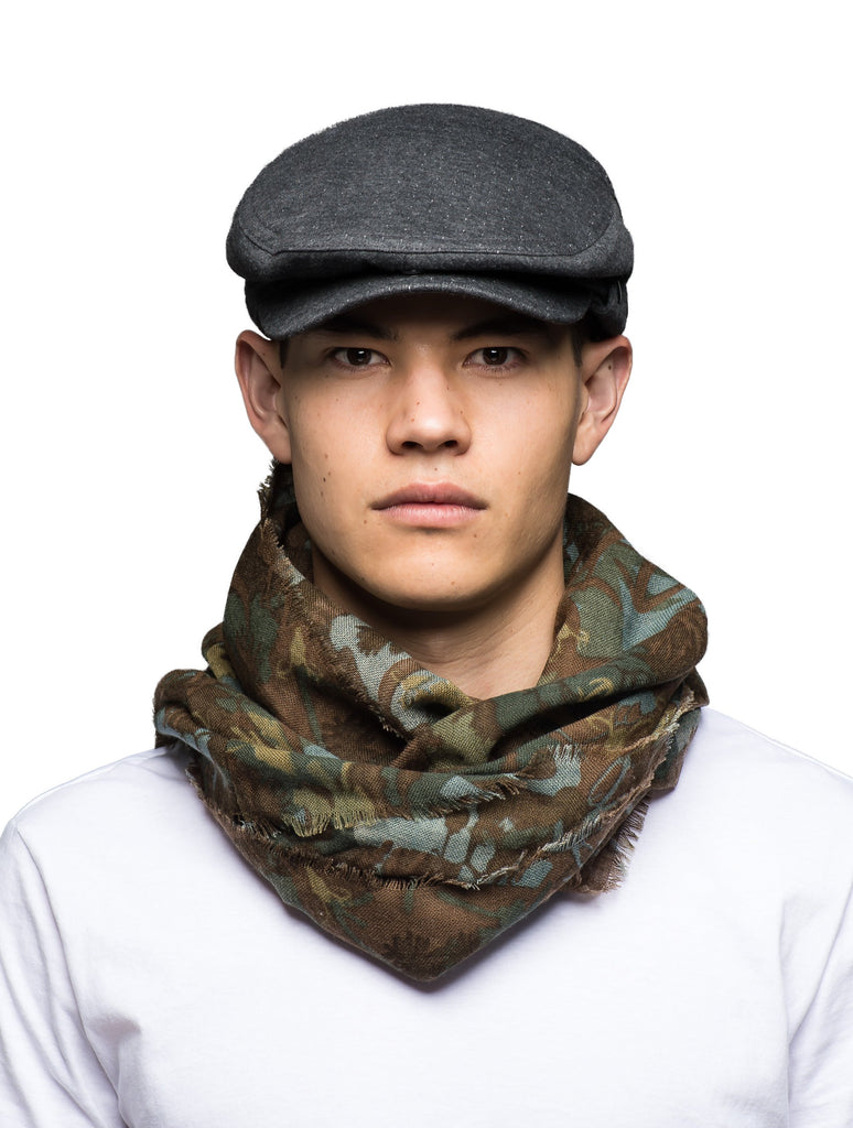 Circular loop Camo scarf| color