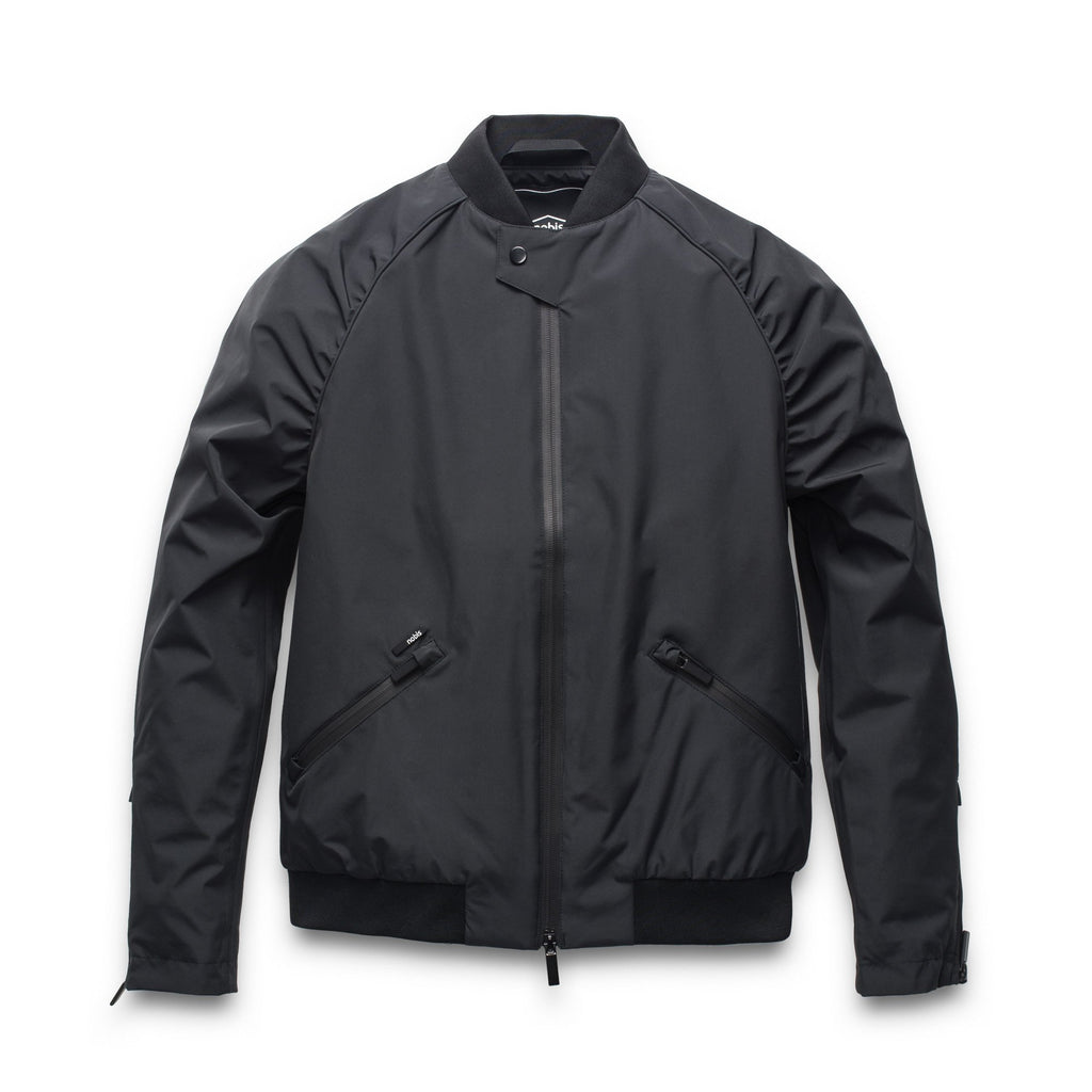 Women's classic bomber jacket called Phoebe in Black | color
