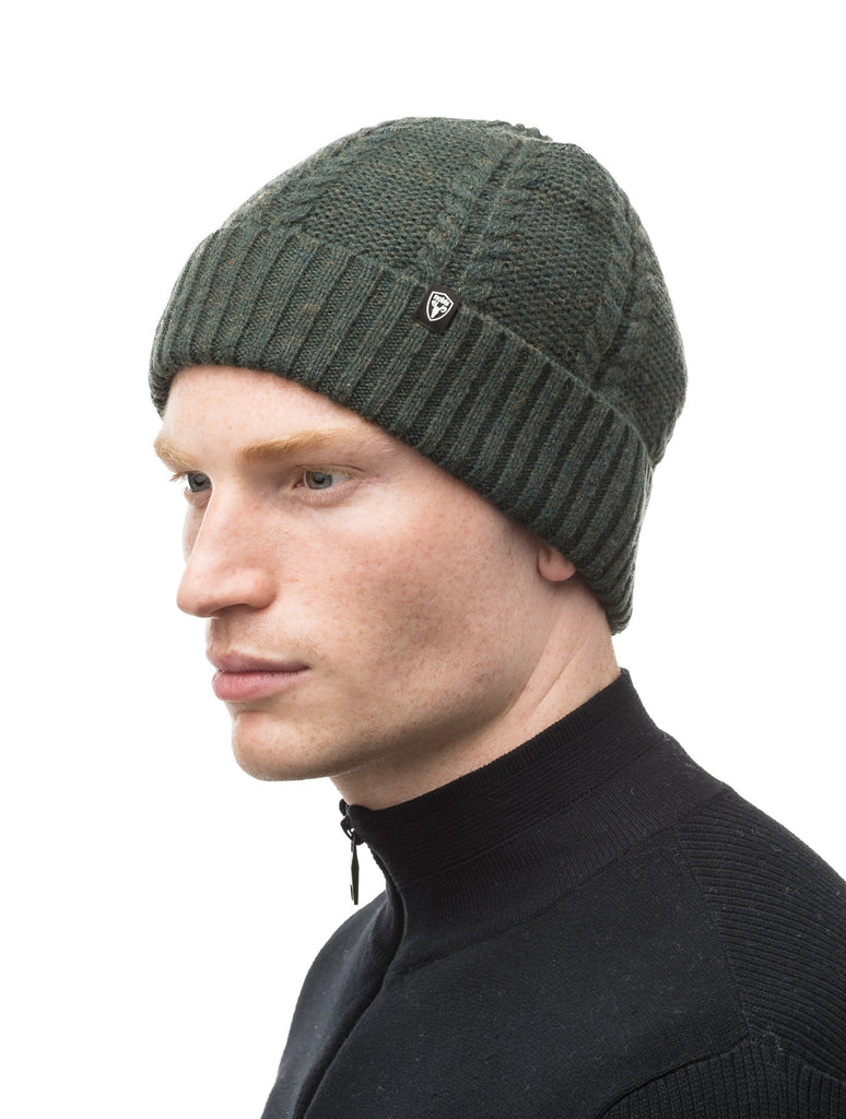 Wool ball cap in Fatigue| color