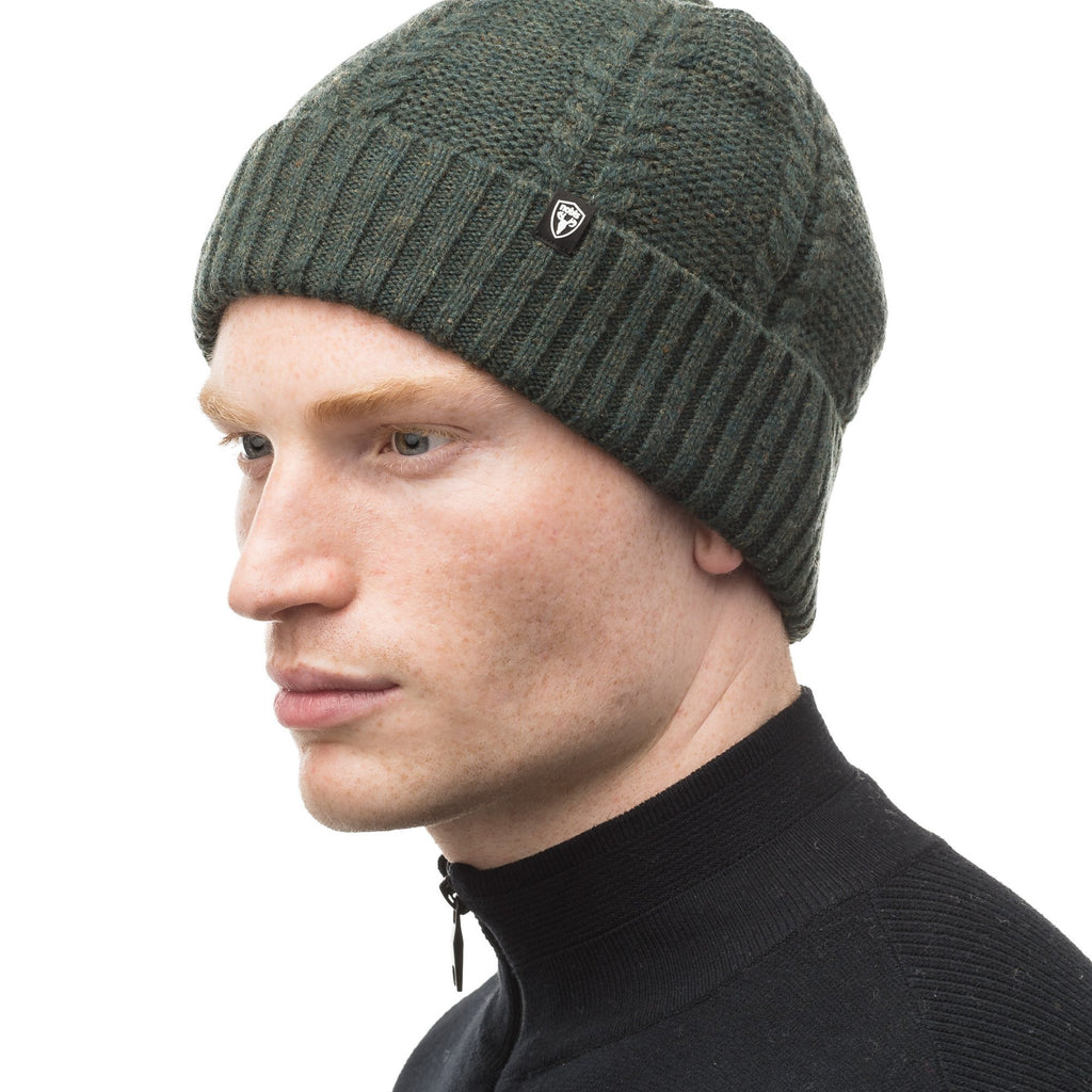 Wool ball cap in Fatigue | color