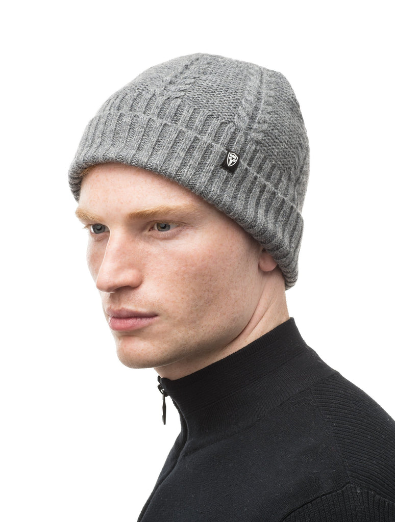 Wool ball cap in Heather Grey| color