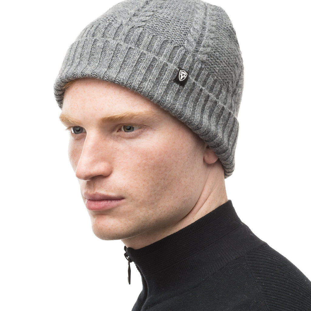 Wool ball cap in Heather Grey | color