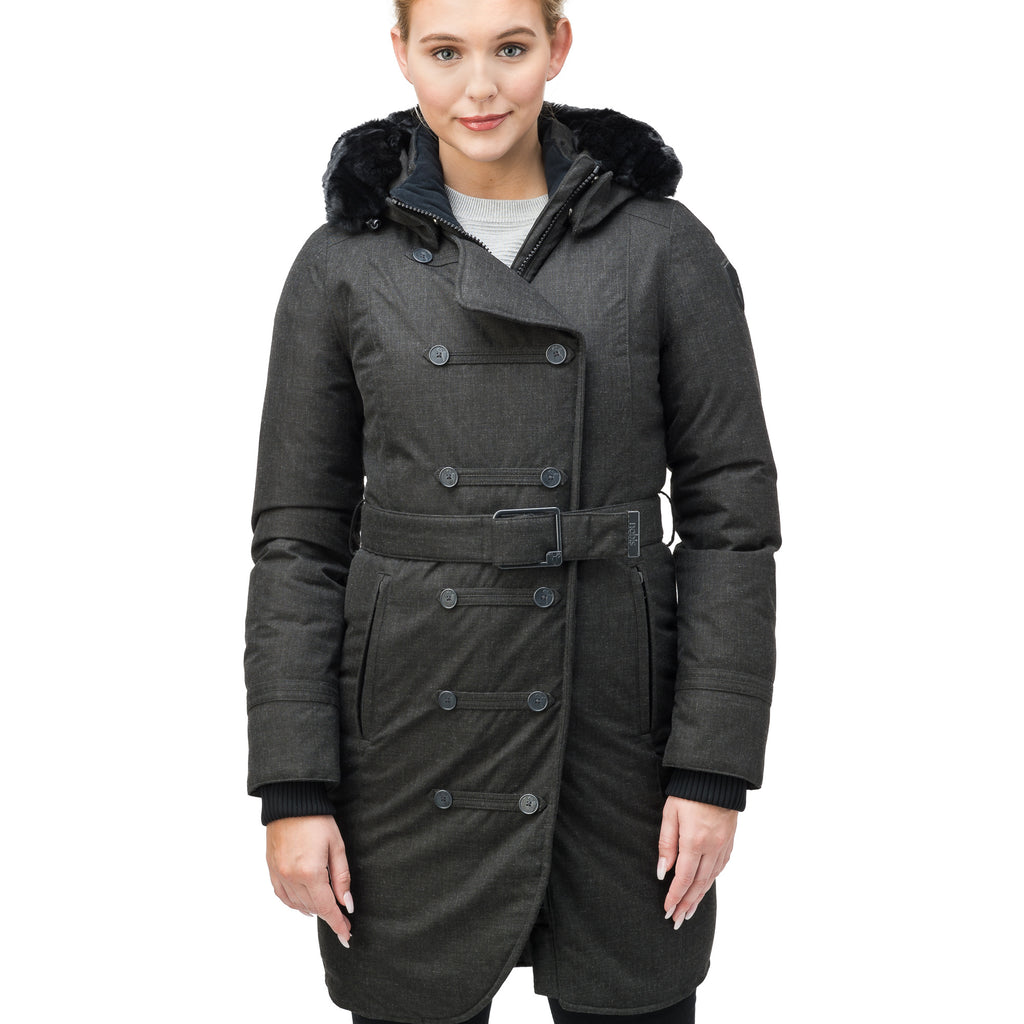 Ursula Ladies Double Breasted Coat