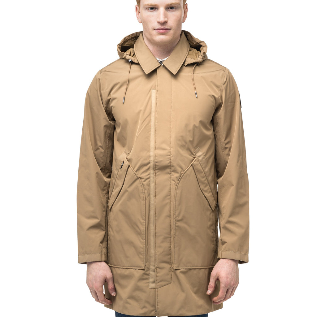 Men's knee length car coat in Cork | color