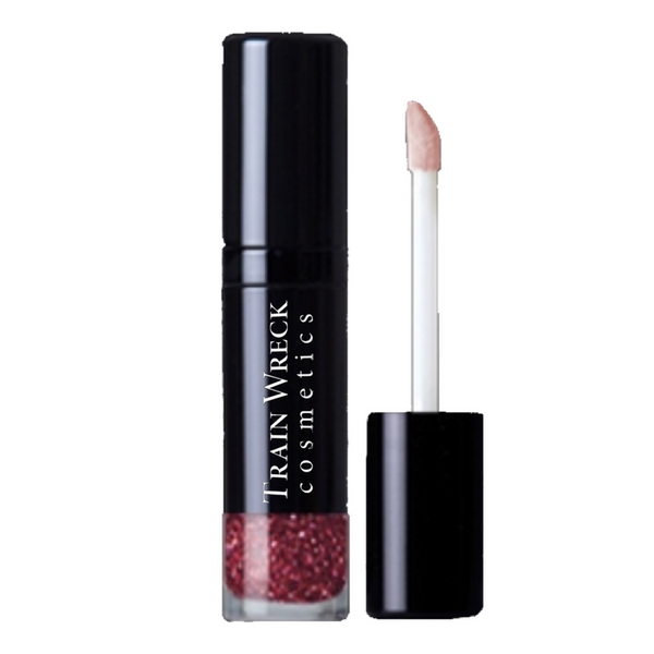 Train Wreck Cosmetics Glitter Lipgloss.  Put your moves on with this high-shine, action packed, star of the show!