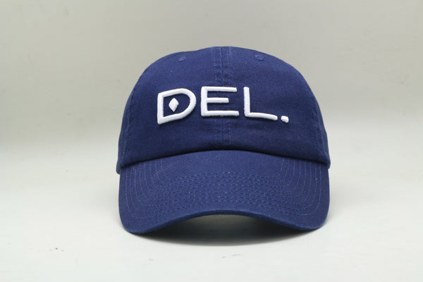 DEL. Hat - Kids (Washed Navy)