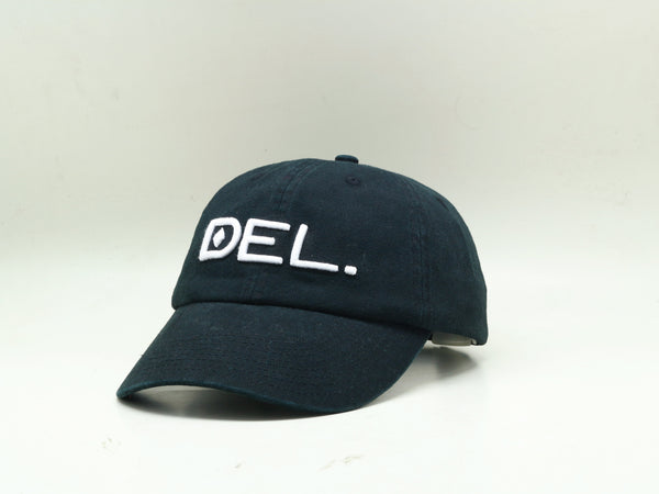 DEL. Hat - Kids (Washed Black)
