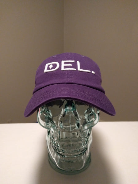 DEL.™ Hat (Purple)